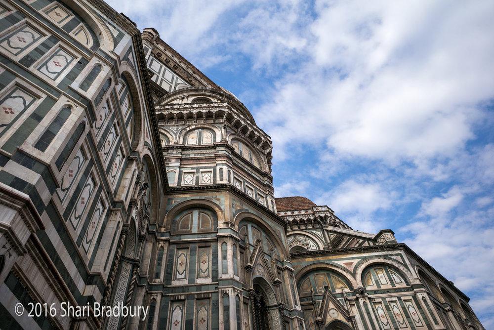 Il Duomo di Firenze (Cattedrale di Santa Maria del Fiore).