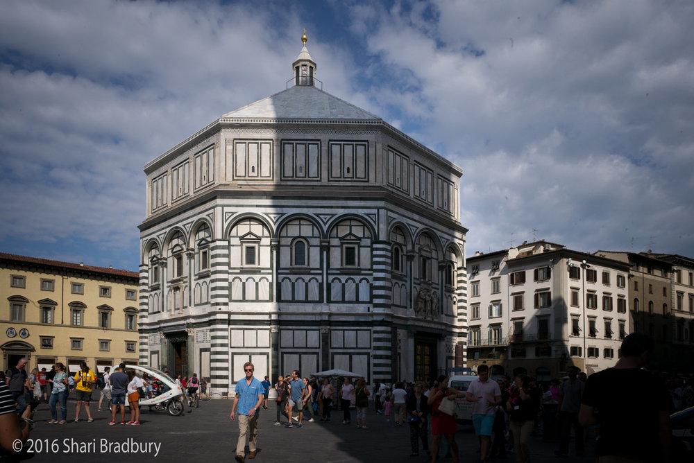 Florence Baptistery (Battistero di San Giovanni).