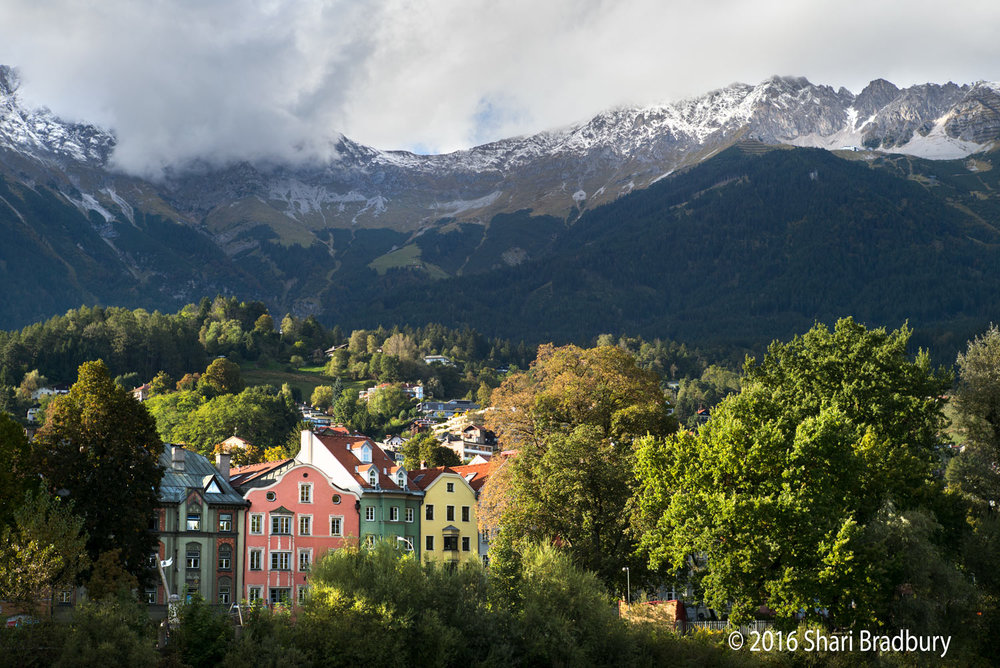 Delightful, colorful, nature-filled Innsbruck.