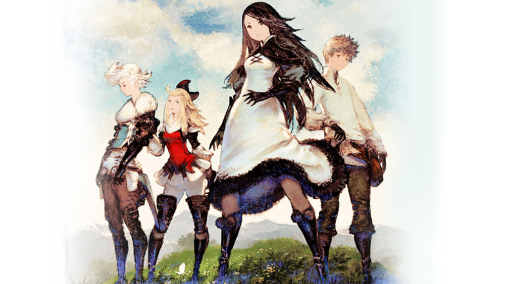 The Bravely Default crew.