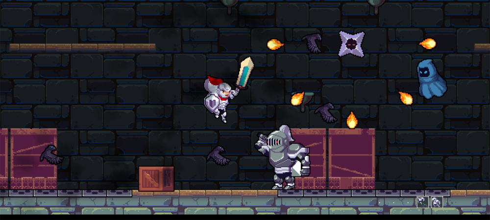 A screenshot from the game Rogue Legacy.