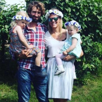 The Nash family aka Alexander, Alexandra, Freya & Harlow