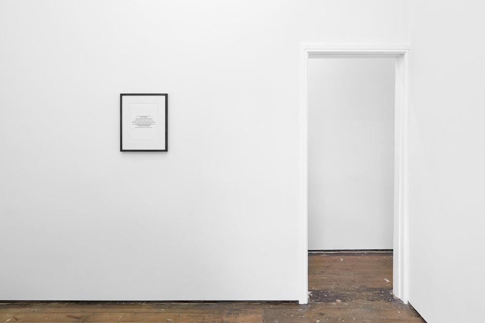 Anna Susanna Woof Untitled 2016 Framed Silver Gelatin print 29.7 x 21 cm Ed 2 + 1 AP