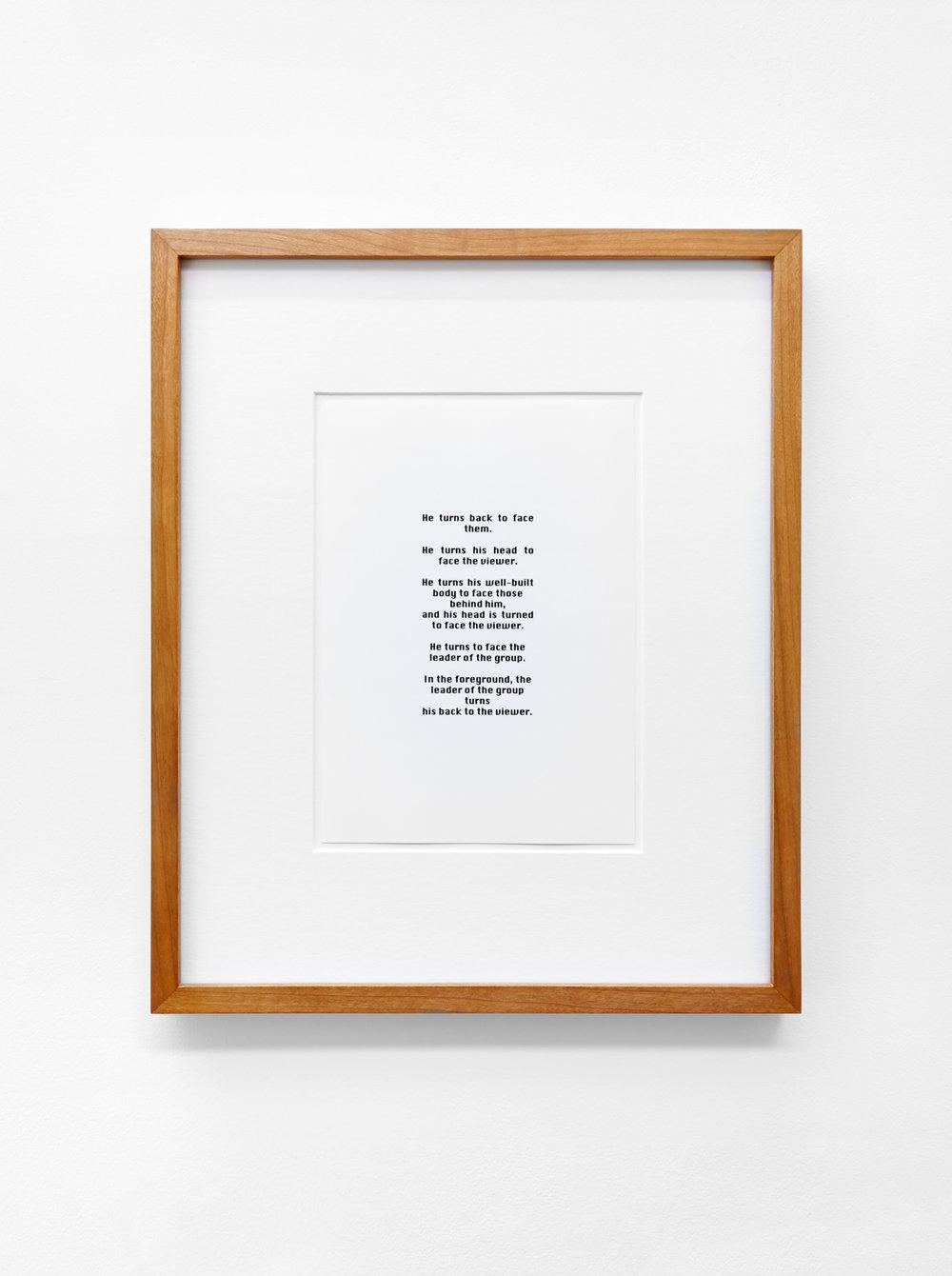 Anna Susanna Woof  Untitled   2016 Framed Silver Gelatin print 21 x 14.8 cm