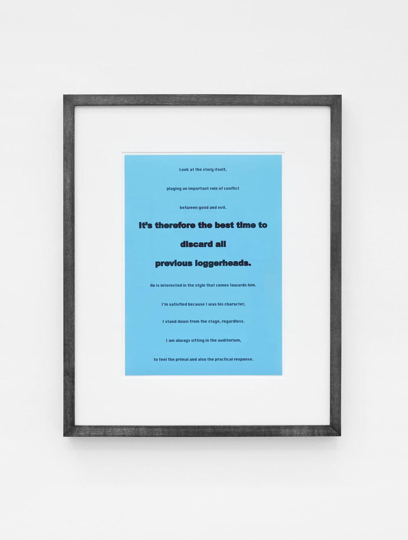 Anna Susanna Woof Untitled 2016 Framed C-print 29.7 x 21 cm Ed 2 + 1 AP
