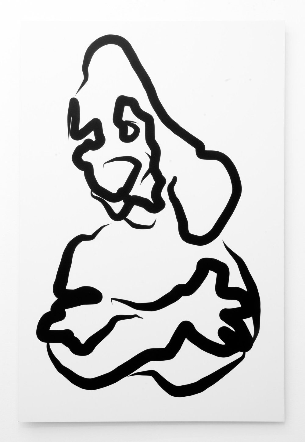 Jon Knight,  Untitled , 2012, inkjet on di-bond, 100 x 66 cm.