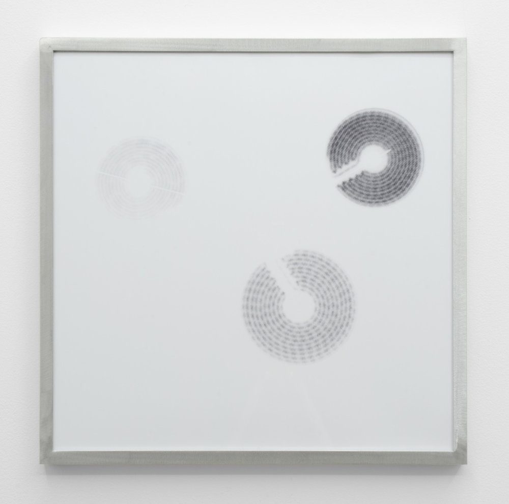 IR-1, 2014, giclee print on hahnemuhle photorag, custom aluminium frame 40 x 40 cm.