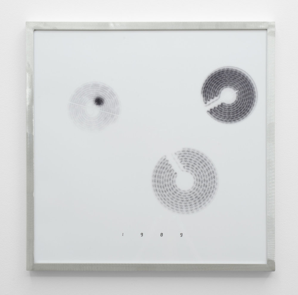 IR-3, 2014, giclee print on hahnemuhle photorag, custom aluminium frame 40 x 40 cm.