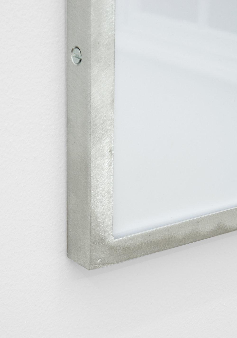 IR-5 (detail), 2014, giclee print on hahnemuhle photorag, custom aluminium frame 40 x 40 cm.