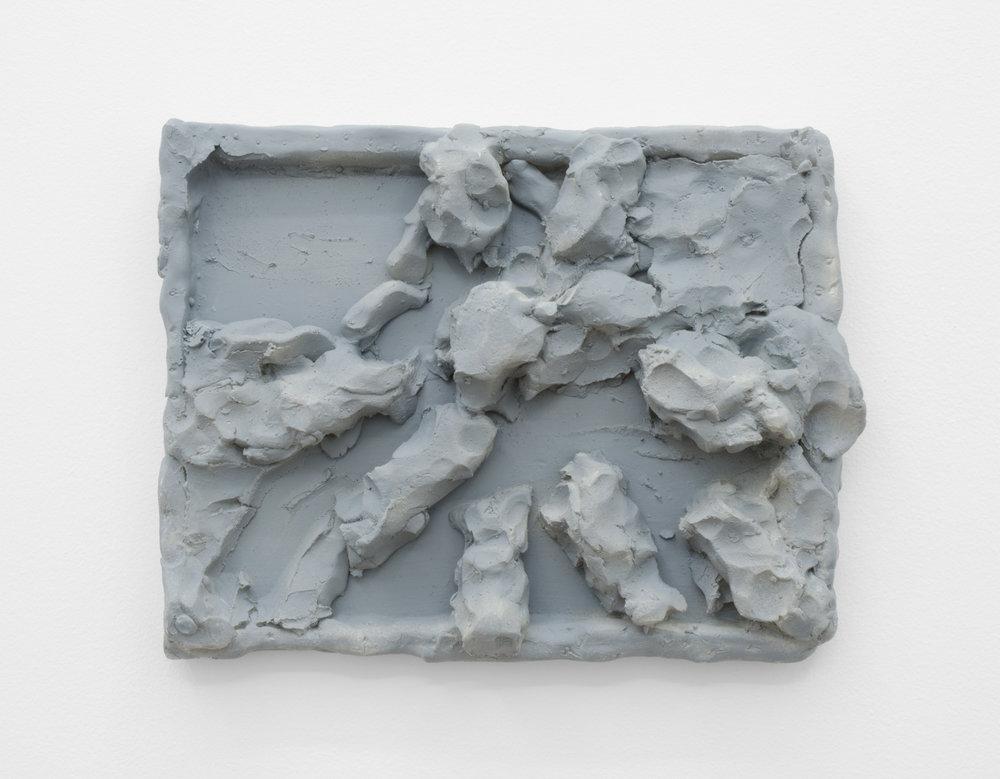 Relief Study, 2014, polyurethane resin.