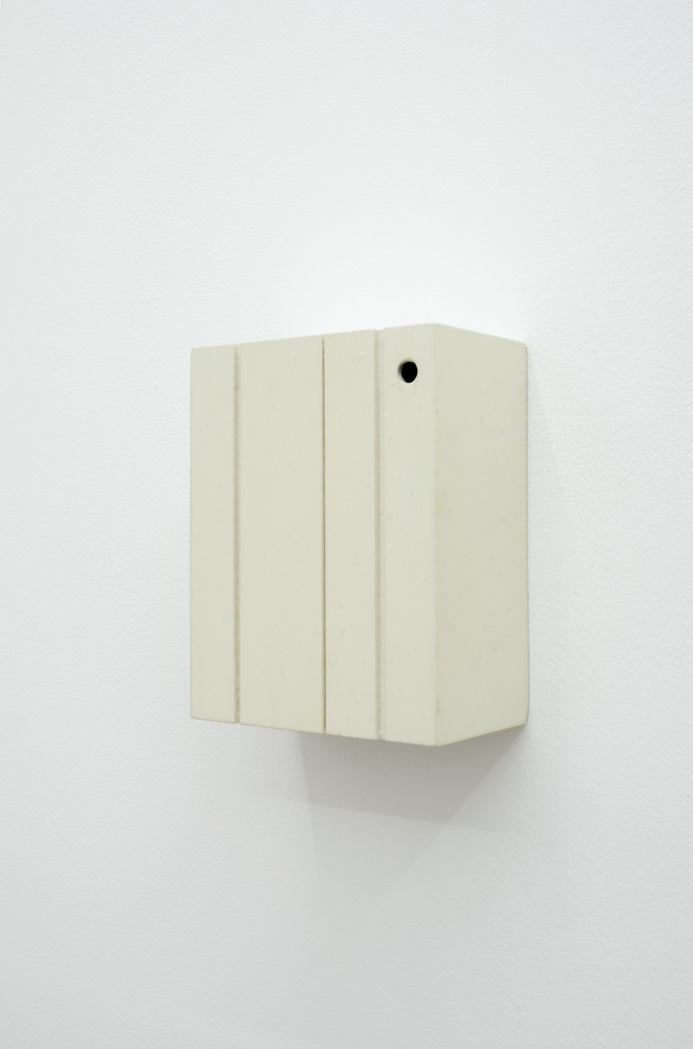 Blob Discovery , 2014, PVC, acrylic paint, lacquer, 13 x 16.5 x 7.5. cm.