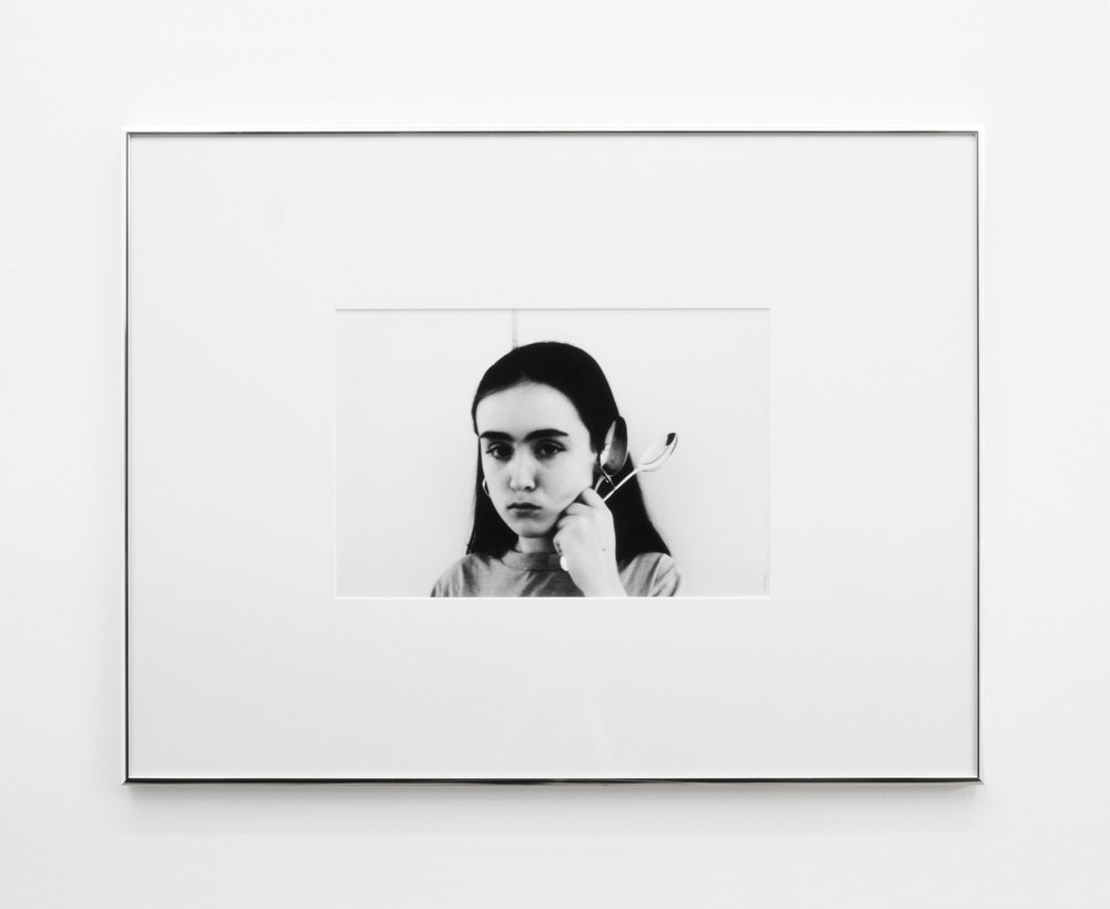 Leda , 2015, 42 x 55cm (framed), Silver Gelatin print.