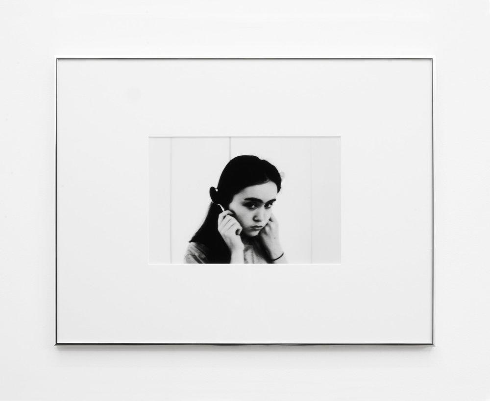 Leda 2 , 2015, 42 x 55cm (framed), Silver Gelatin print.