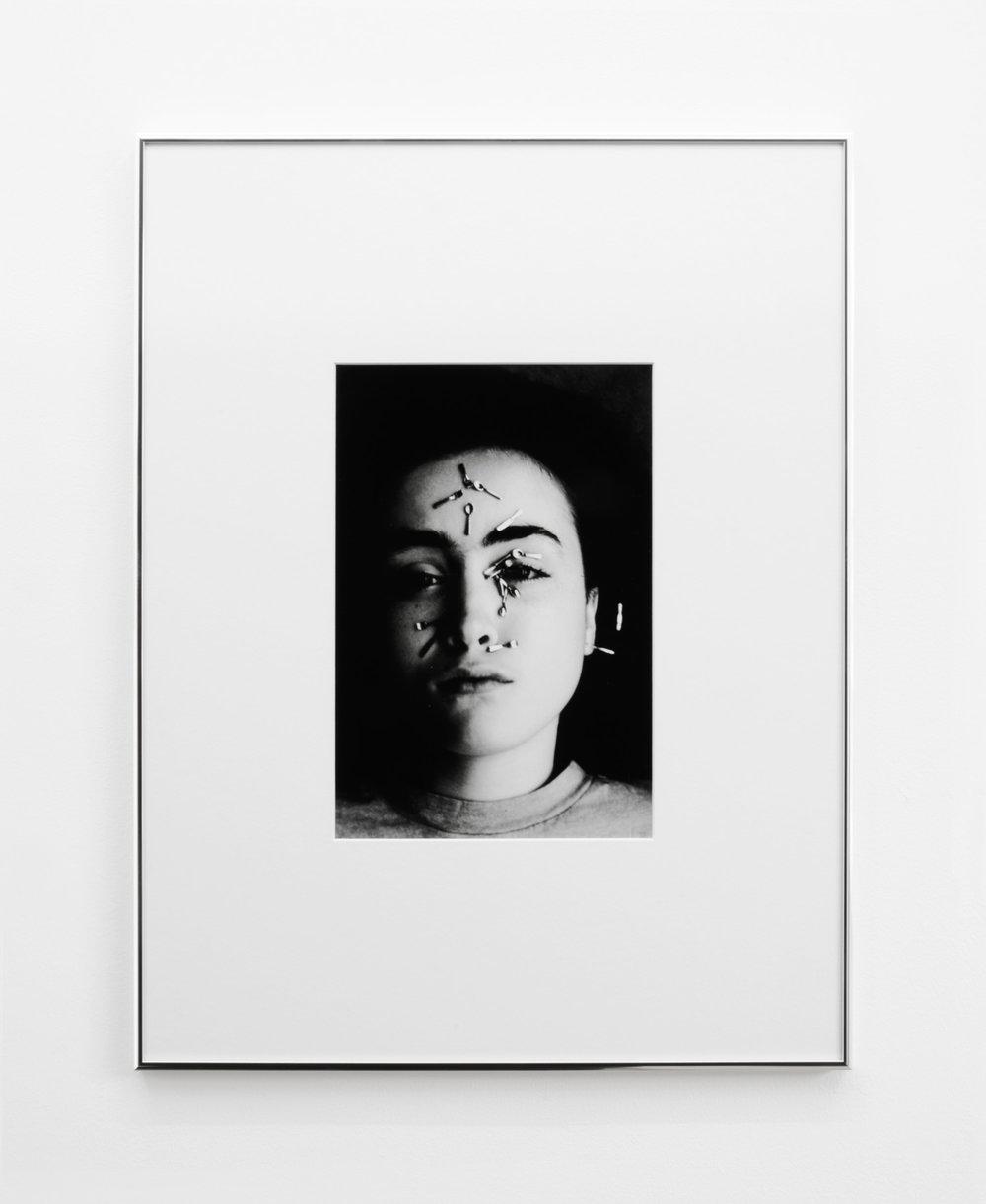 Leda 4 , 2015, 55 x 42cm (framed), Silver Gelatin print.