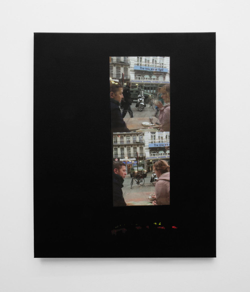 The kids are alright , 2016, Inkjet print mounted on canvas, 76 x 61cm.