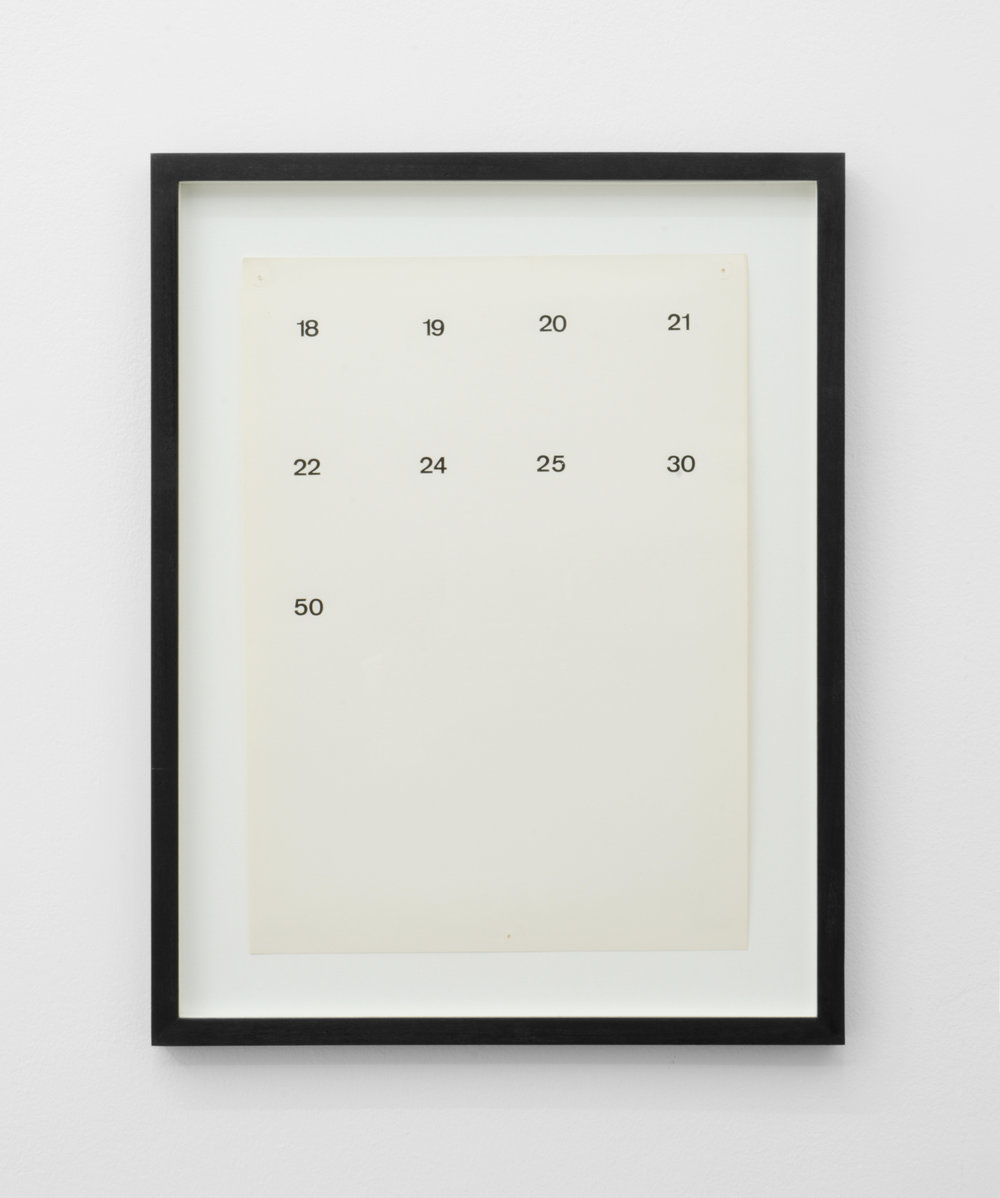 Remko Scha,  Album Pages (1-19) , 1967, Letraset and pencil on paper, 32 x 23 cm.