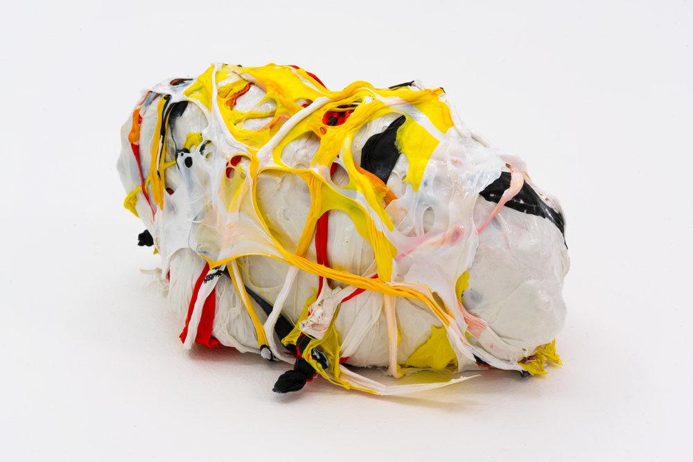 Remko Scha,  Plastic Meltdown , 1962-1992, Plastic, 10 x 11 x 7 cm