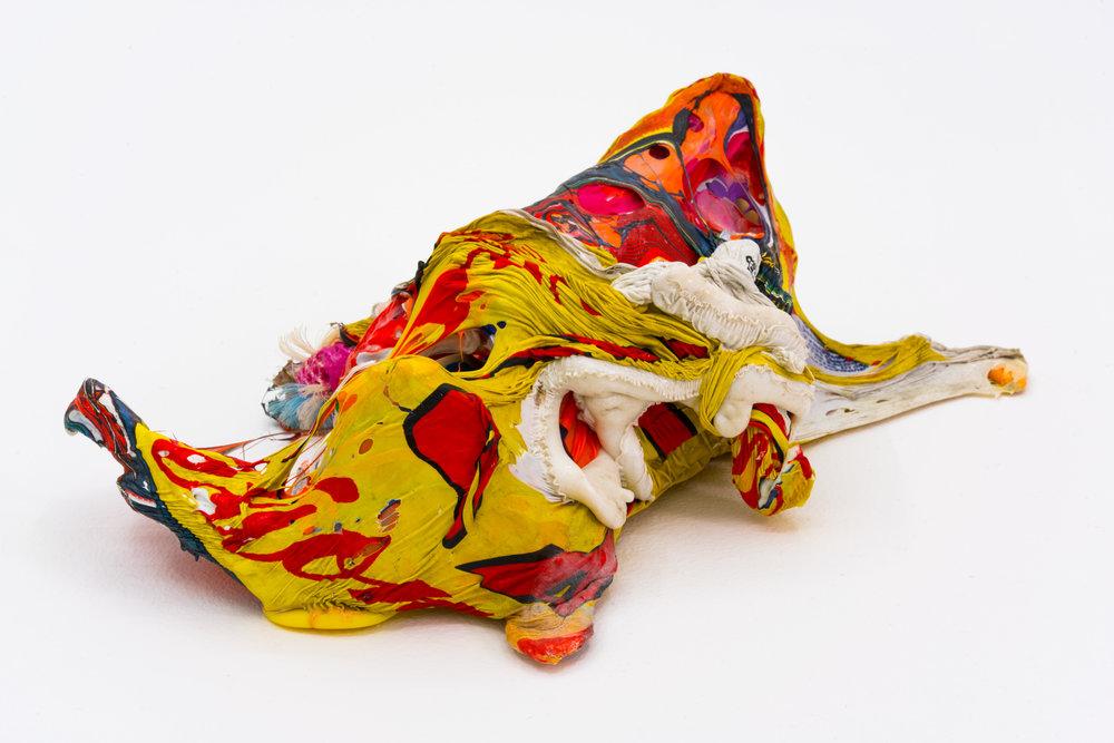 Remko Scha,  Plastic Meltdown , 1962-1992, Plastic, 9 x 24 x 17 cm