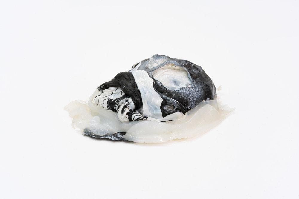 Remko Scha,  Plastic Meltdown , 1962-1992, Plastic, 6 x 19 x 15 cm