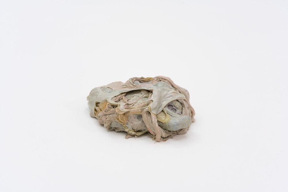 Remko Scha,  Plastic Meltdown , 1962-1992, Plastic, 5 x 15 x 11 cm