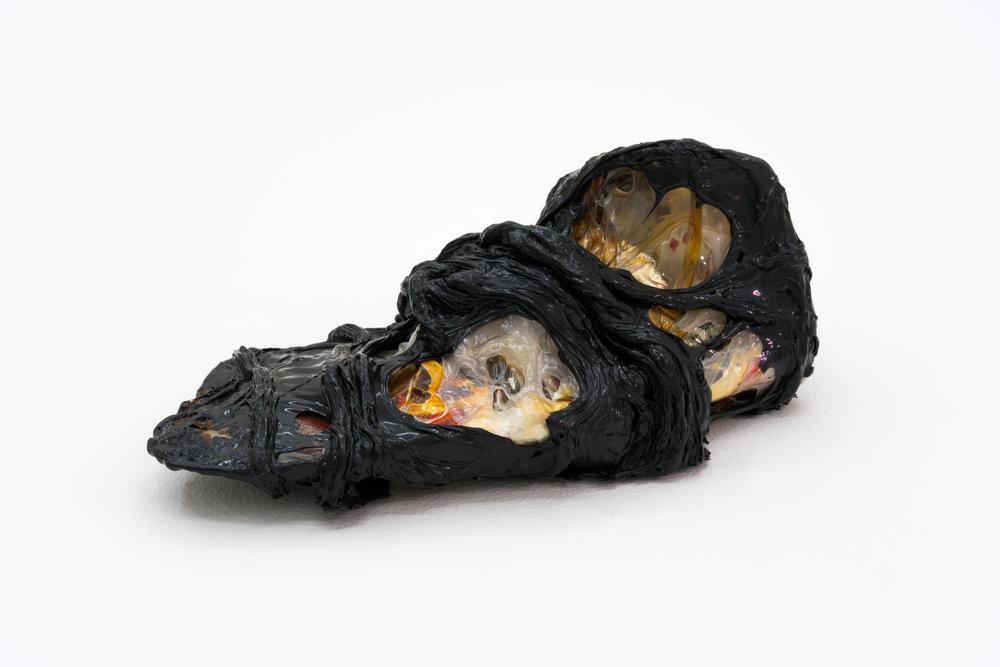 Remko Scha,  Plastic Meltdown , 1962-1992, Plastic, 12 x 22 x 12 cm