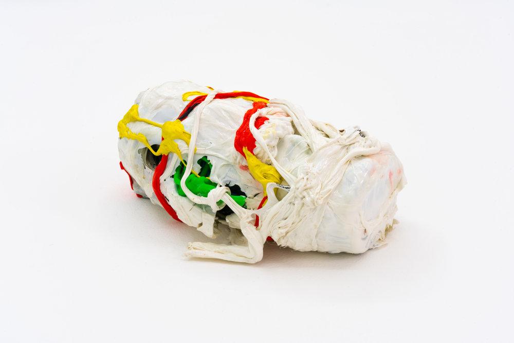 Remko Scha,  Plastic Meltdown , 1962-1992, Plastic, 8 x 17 x 12 cm