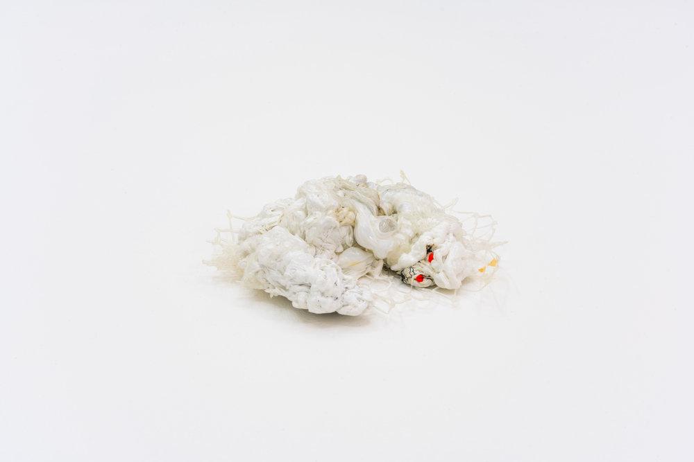 Remko Scha,  Plastic Meltdown , 1962-1992, Plastic, 4 x 14 x 14 cm