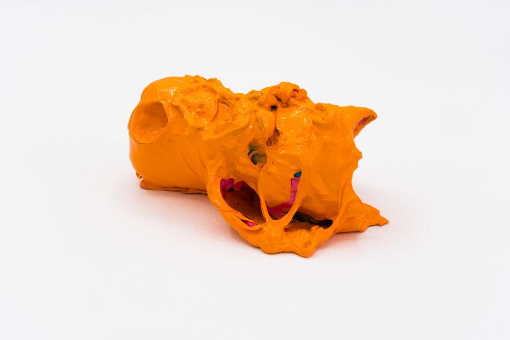 Remko Scha,  Plastic Meltdown , 1962-1992, Plastic, 8 x 16 x 11 cm