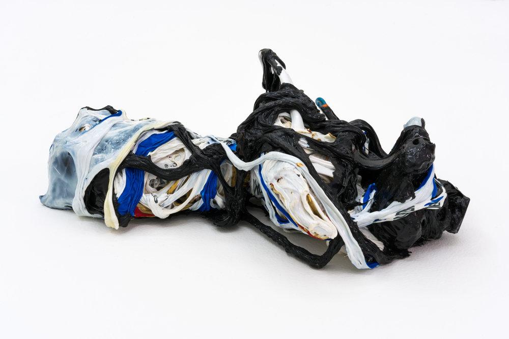 Remko Scha,  Plastic Meltdown , 1962-1992, Plastic, 8 x 25 x 16 cm