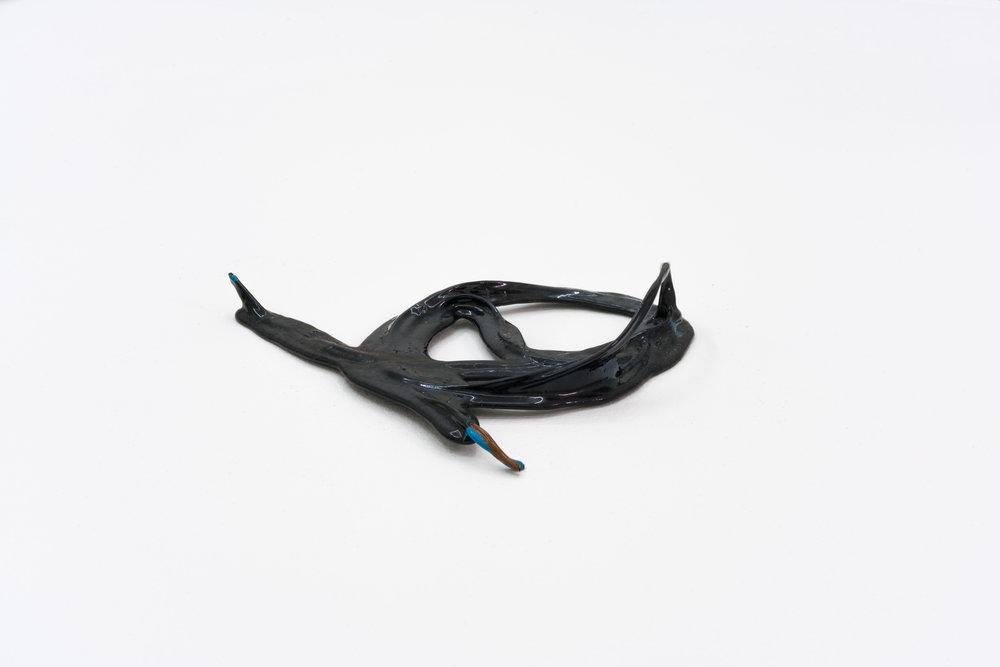 Remko Scha,  Plastic Meltdown , 1962-1992, Plastic, 4 x 13 x 17 cm