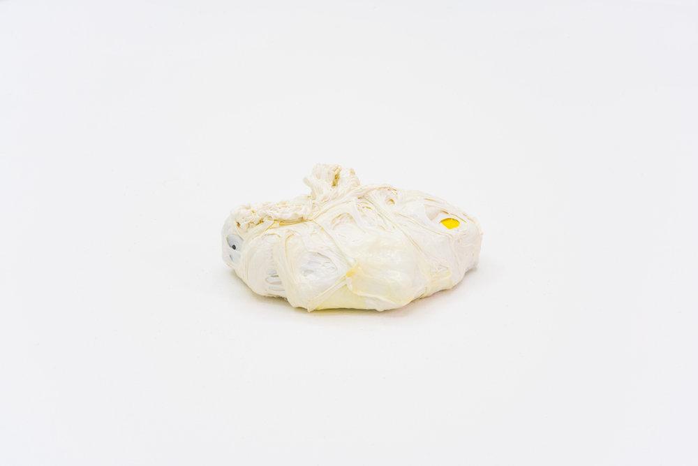 Remko Scha,  Plastic Meltdown , 1962-1992, Plastic, 4 x 10 x 12 cm