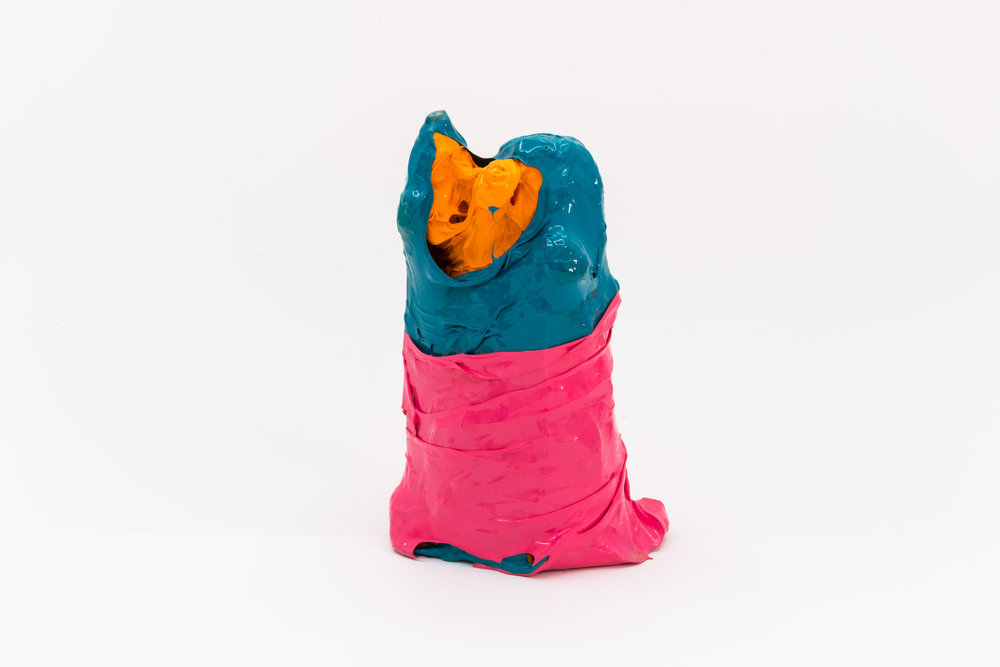 Remko Scha,  Plastic Meltdown , 1962-1992, Plastic, 17 x 9 x 11 cm