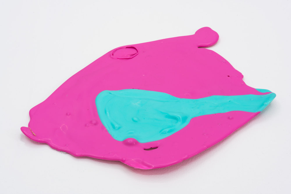 Remko Scha,  Plastic Meltdown , 1962-1992, Plastic, 2 x 29 x 20 cm
