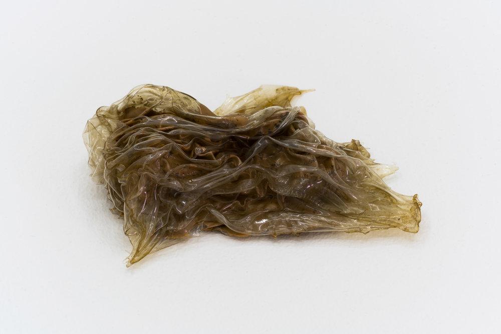 Remko Scha,  Plastic Meltdown , 1962-1992, Plastic, 3 x 10 x 8 cm