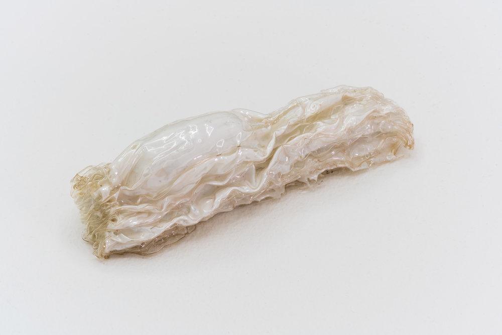 Remko Scha,  Plastic Meltdown , 1962-1992, Plastic, 3 x 11 x 3 cm