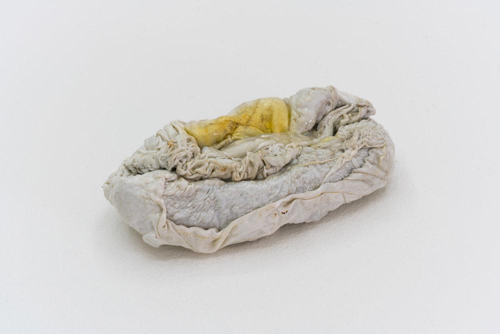 Remko Scha,  Plastic Meltdown , 1962-1992, Plastic, 3 x 9 x 4 cm