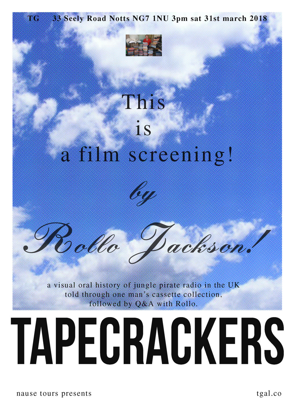 TG gallery Rollo Jackson Tape Crackers