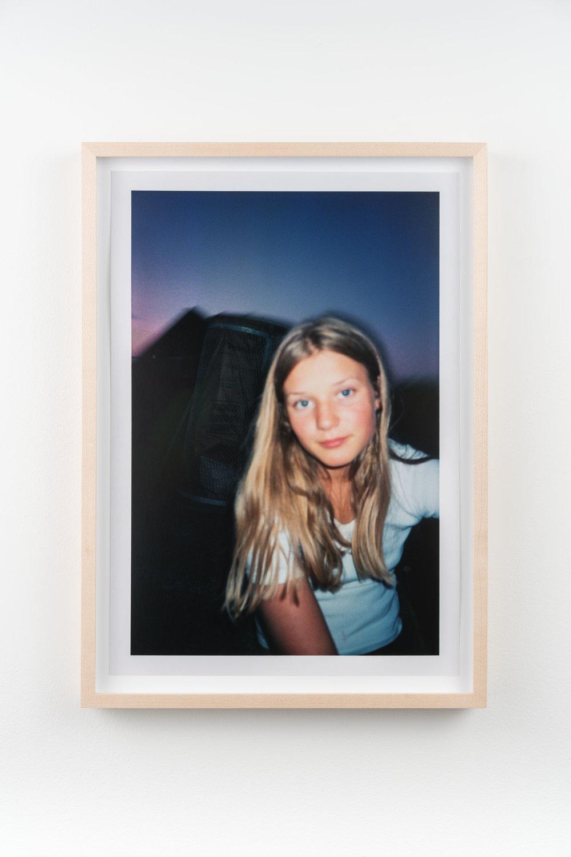 Julie 1,  1997/2018 Hand-printed c-print 32.8 x 21.8 cm (39.5 x 28.5 cm framed)