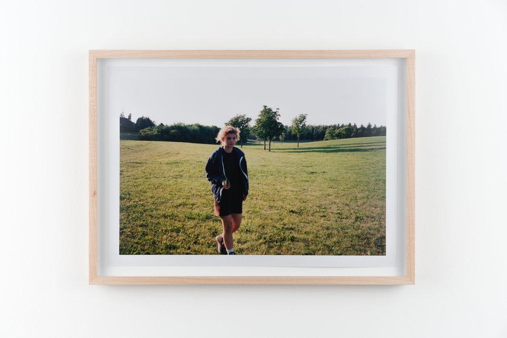 Laura 2 , 1997/2018 Hand-printed c-print 21.8 x 32.8 cm (28.5 x 39.5 cm framed)