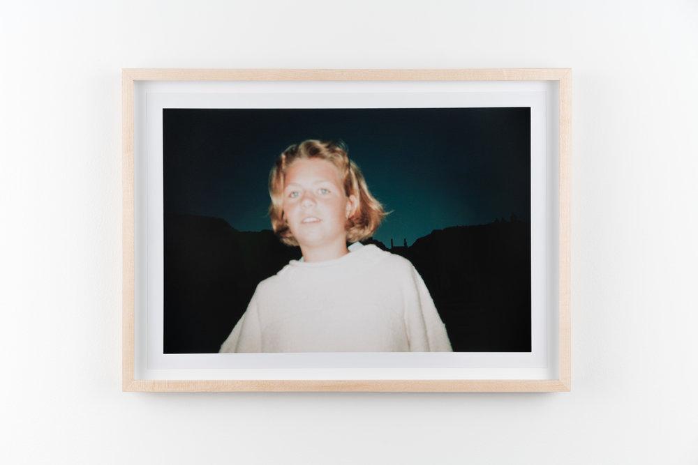 Christina 2 , 1995/2018 Hand-printed c-print 21.8 x 32.8 cm (28.5 x 39.5 cm framed)