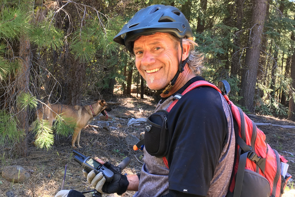 Jim Fagan   has been an avid outdoorsman and mountain biker since the mid 1980's. Excited to be exploring remote trails and loves the idea of being part of such an ambitious and impactful project.