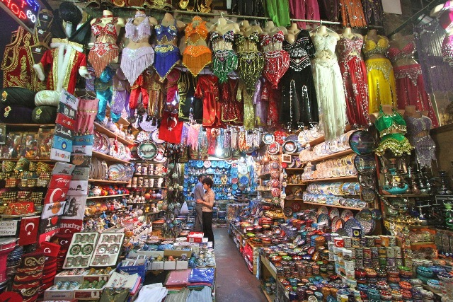 One of thousands of shops in the Grand Bazaar.