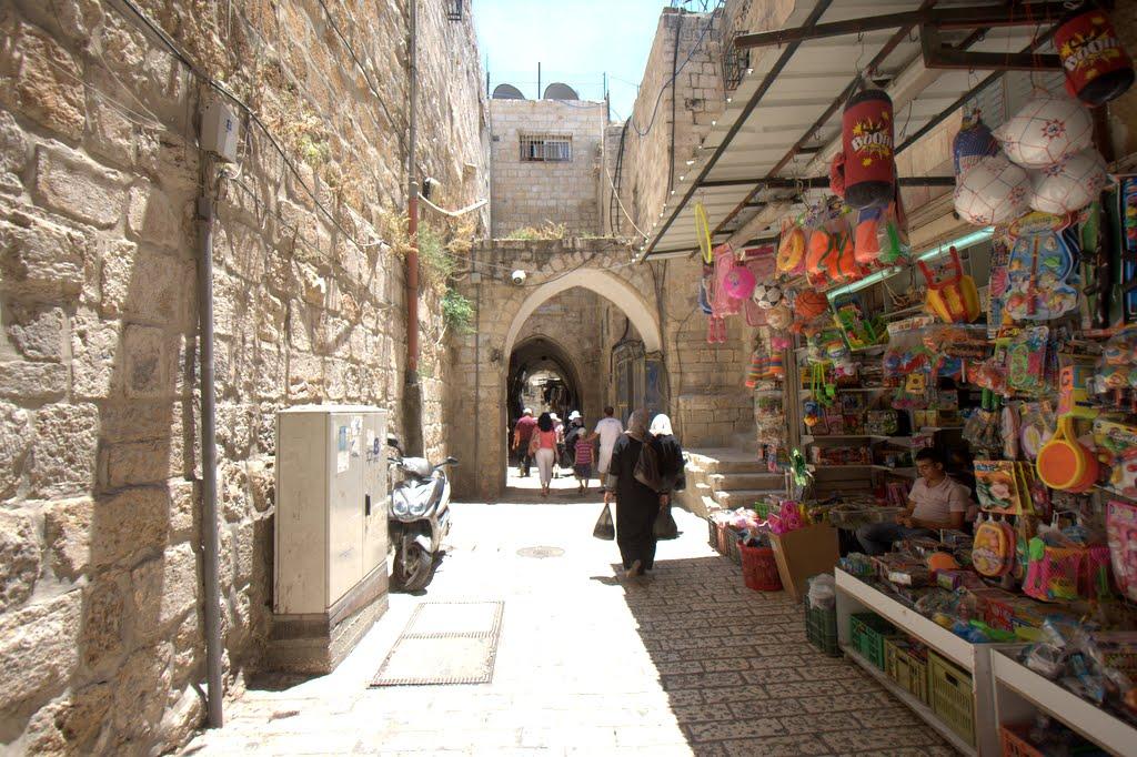 Old City, Jerusalem. Taken by Prince Charming.
