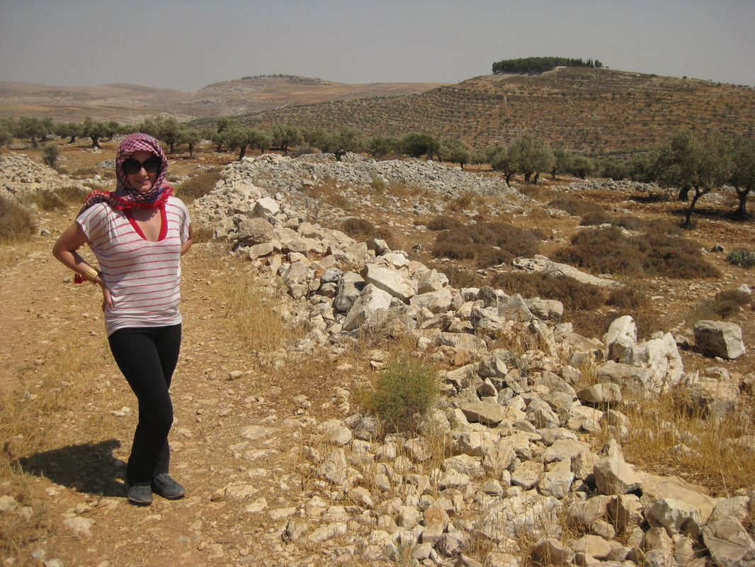 Hiking in Taybeh.