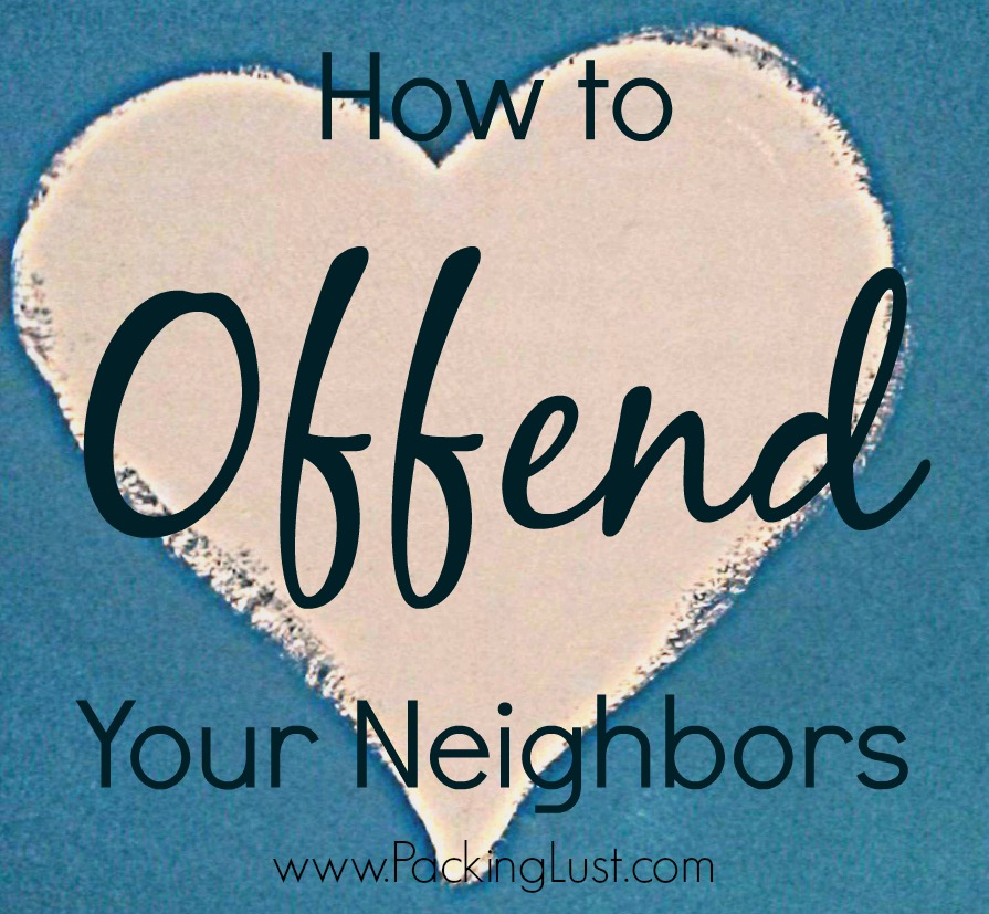 how to offend