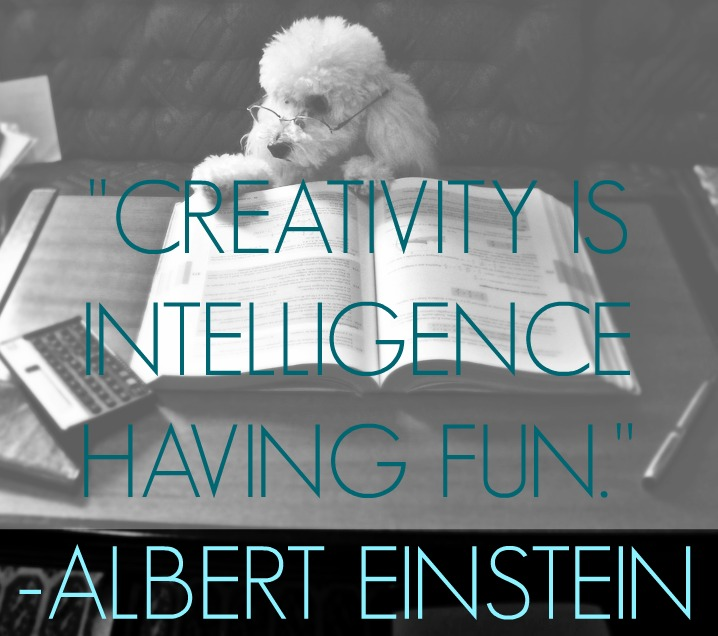 creativity is intelligence QUOTE