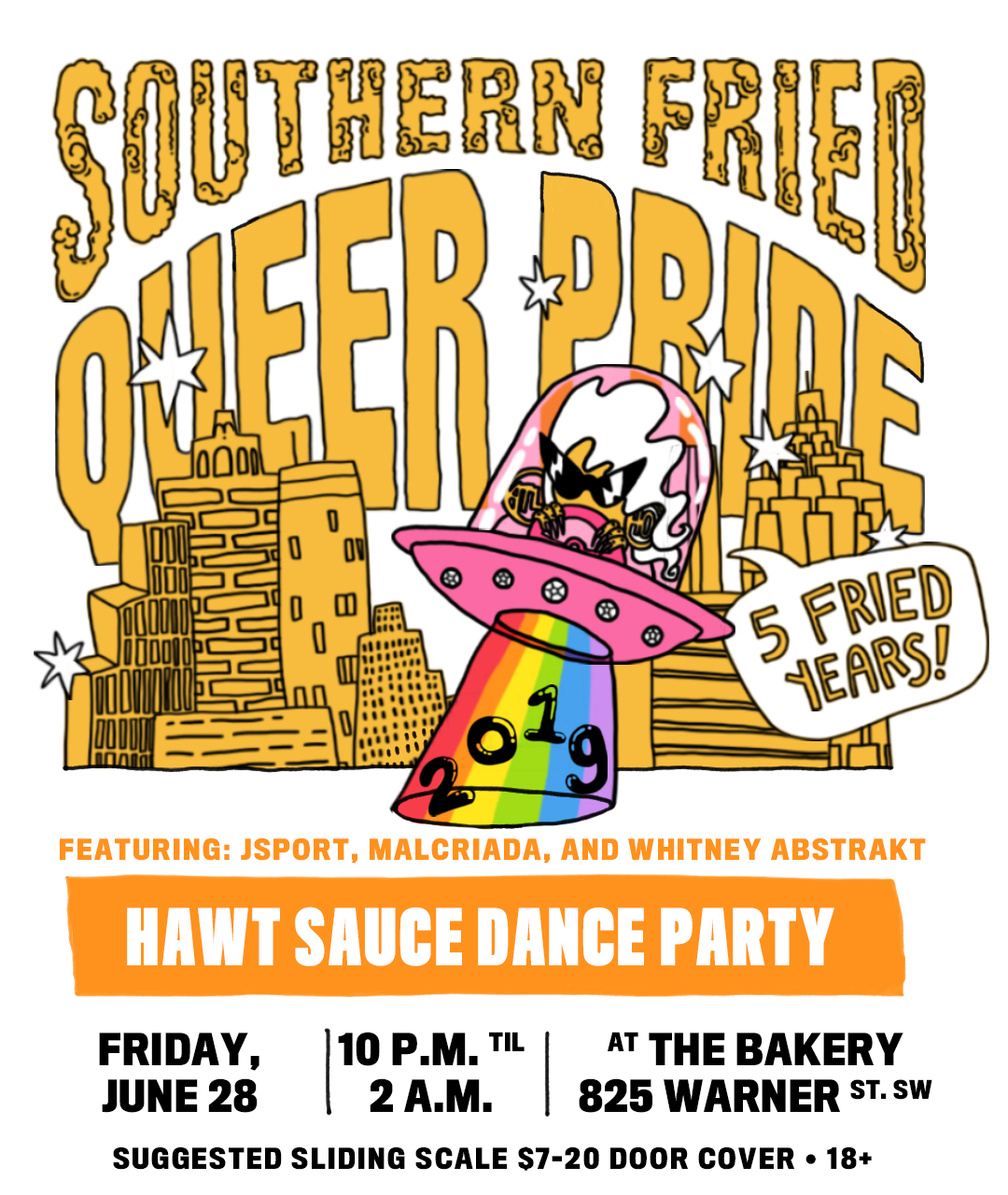 Upcoming Events — Southern Fried Queer Pride
