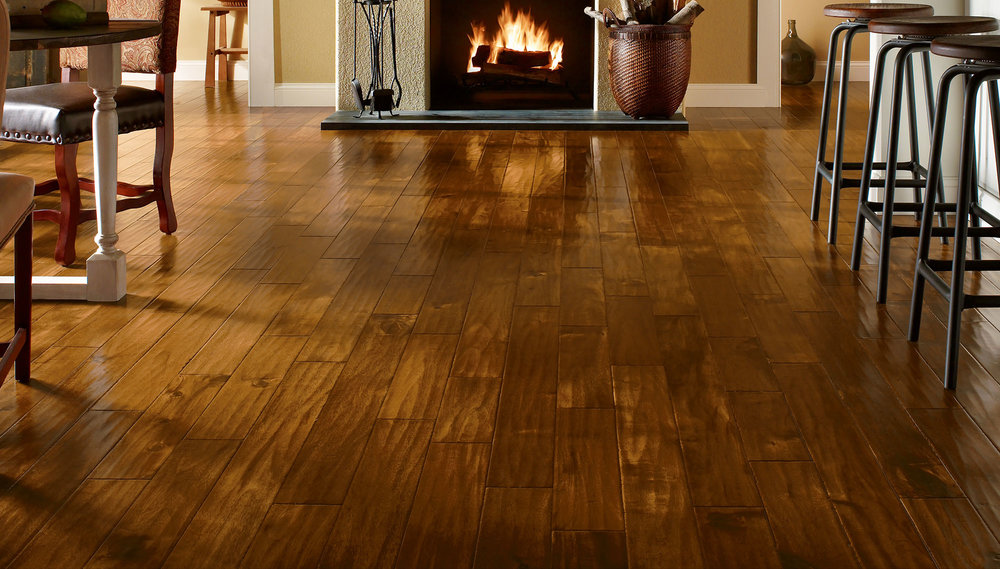 Beautiful wood flooring, pre-finished, solid, engineered and glueless. We make it easy.