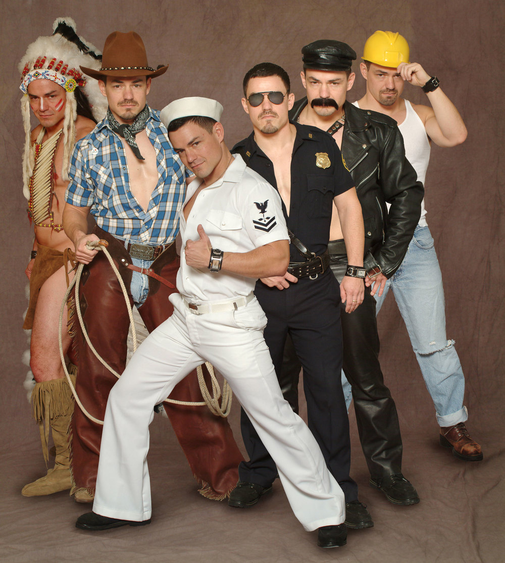 Publicity photo for Mondo Homo; photographer  Scott Ashton