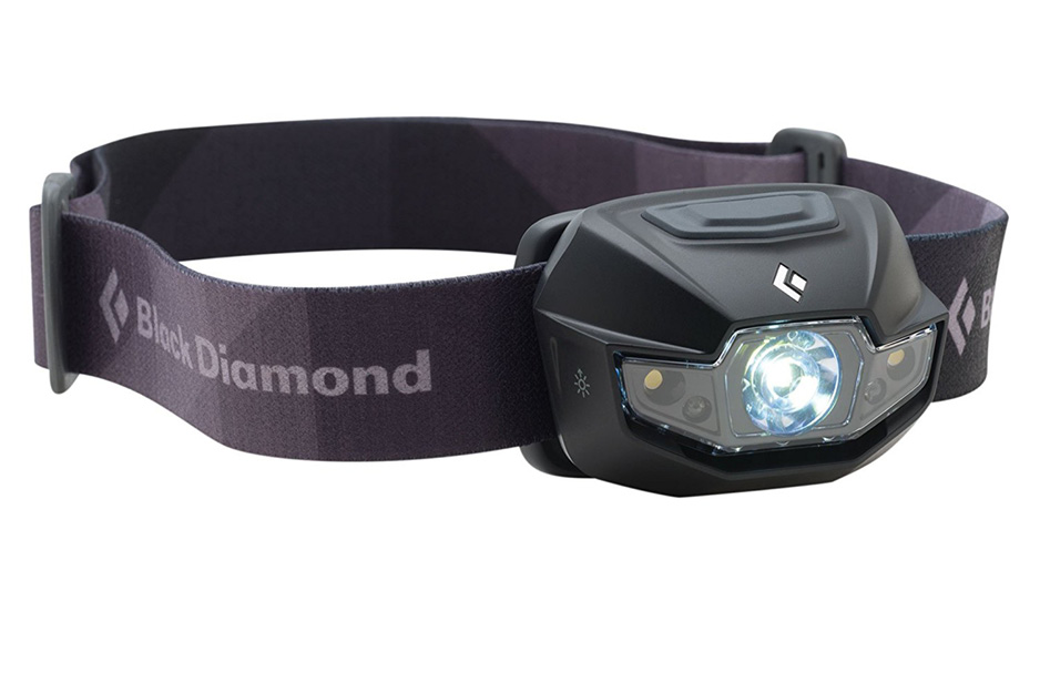 BLACK DIAMOND HEADLAMP I love this headlamp for its lightweight and bright light. If you're heading anywhere where you might need a flashlight i.e. anywhere outside of Europe, this is a great option.